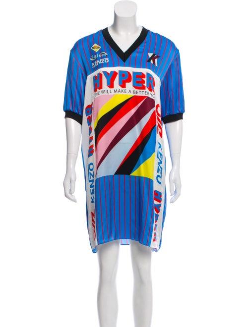 b34138db Kenzo Silk Hyper Shirtdress w/ Tags - Clothing - KEN28611 | The RealReal