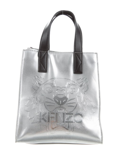 ea32ba1d9f Kenzo Metallic PVC Tiger Tote Bag - Handbags - KEN29236 | The RealReal