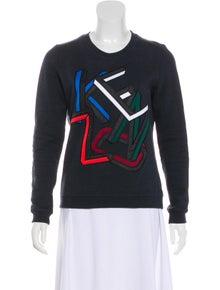 6f4087089057 Kenzo. Crew Neck Logo Sweatshirt