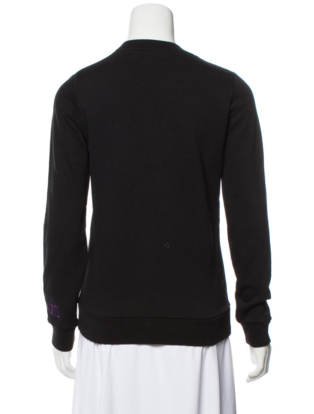 Kenzo Embroidered Knit Sweater Black - image 3