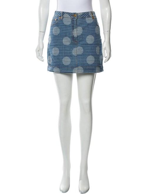 Kenzo Denim Mini Skirt blue
