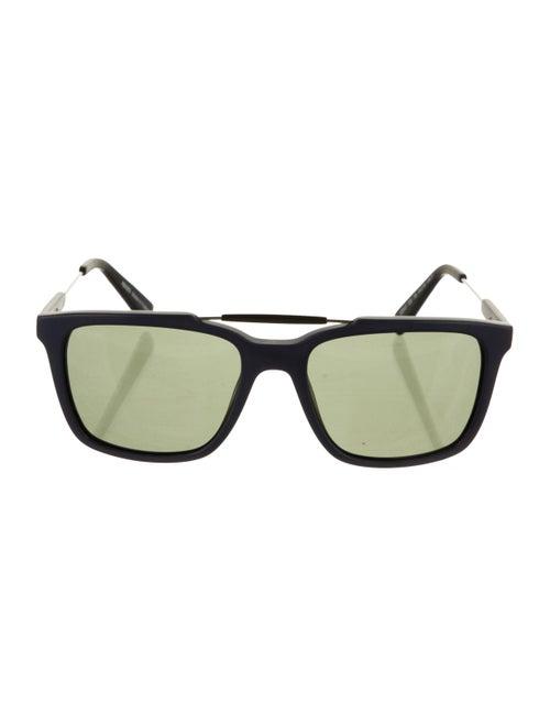 Kenzo Wayfarer Aviator Sunglasses Navy