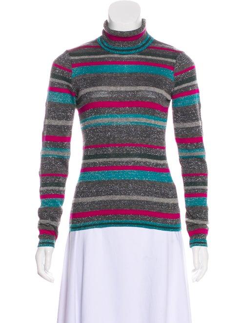 Kenzo Striped Wool Sweater multicolor