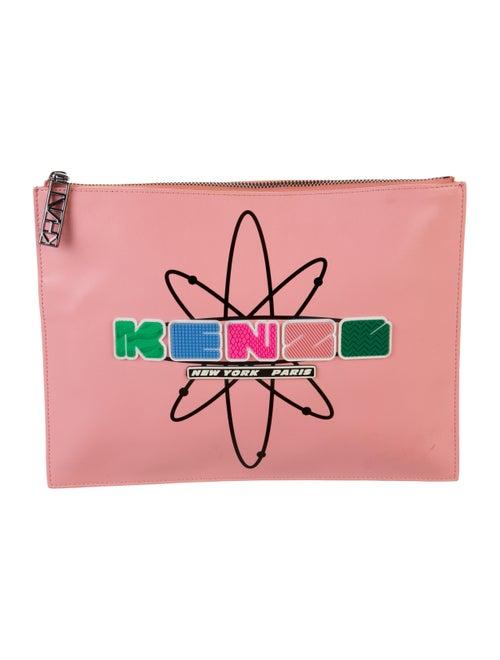 Kenzo Nasa Clutch Pink