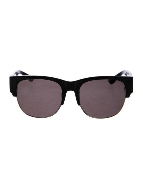 Kenzo Tinted Square Sunglasses Black