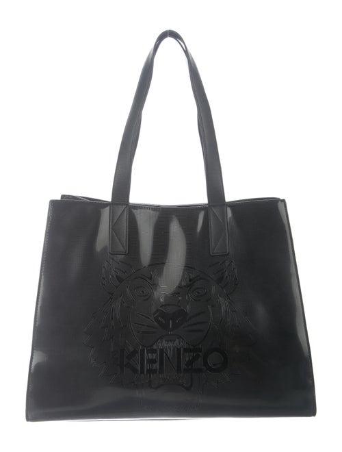 Kenzo Embossed Logo Tote Black