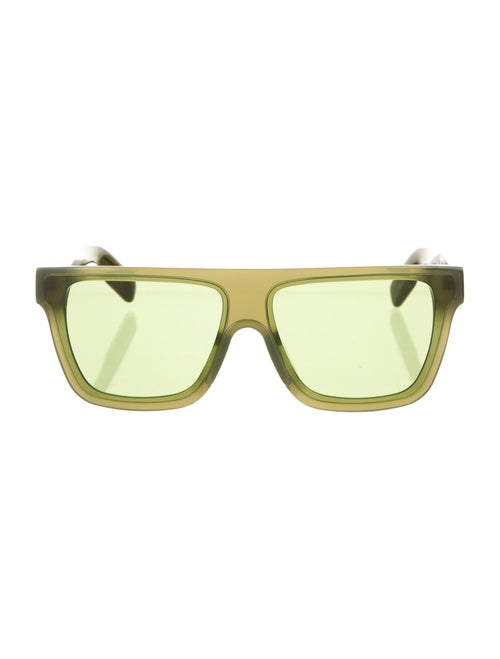 Kenzo Flat Top Sunglasses Green