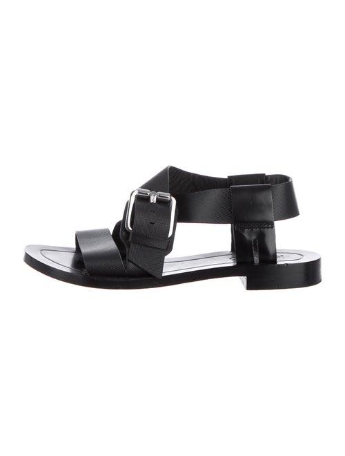 Kenzo Leather Sandals Black