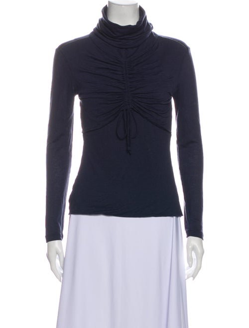 Kenzo Turtleneck Sweater Blue