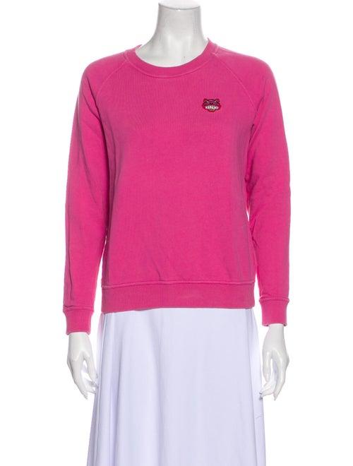 Kenzo Crew Neck Sweater Pink