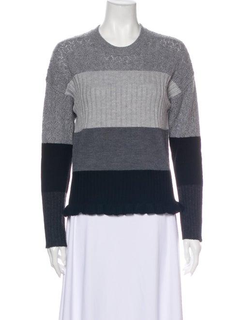 Kenzo Wool Striped Sweater Wool