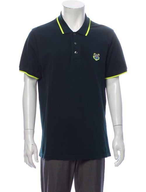 Kenzo Short Sleeve Polo Shirt Striped Polo Shirt G