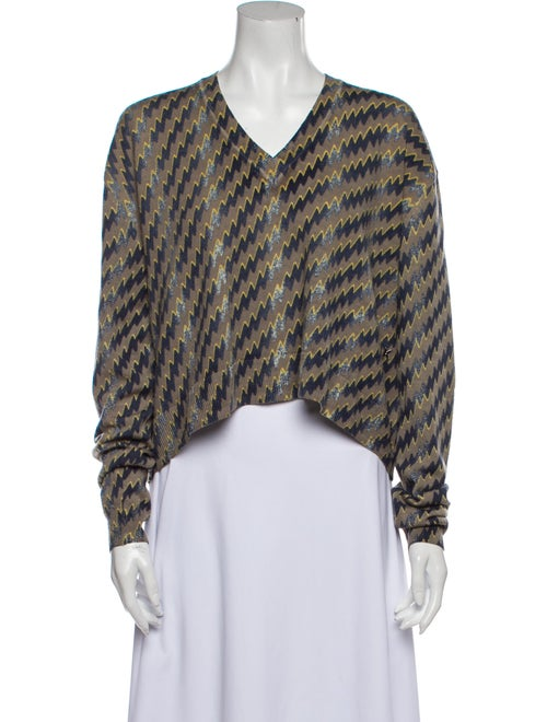 Kenzo Wool Printed Sweater Wool