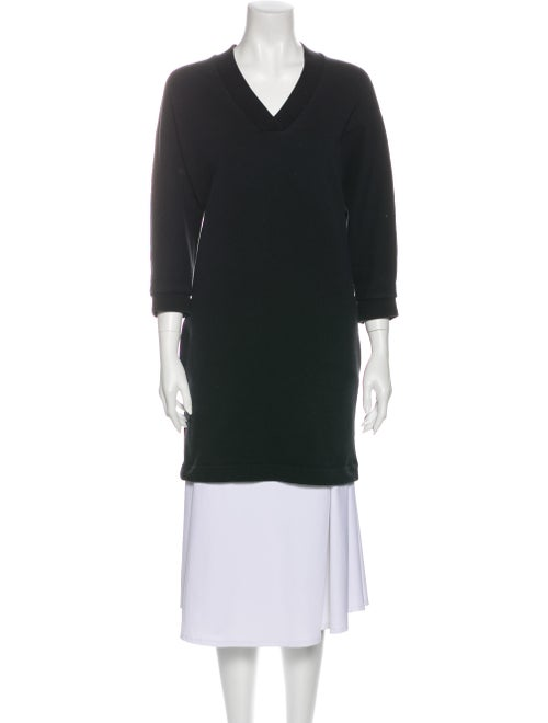 Kenzo V-Neck Sweater Black
