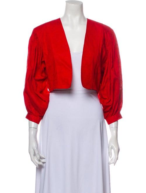 Kenzo Vintage 1980's Bolero Red