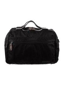 Kenzo Leather Trim Weekender Bag