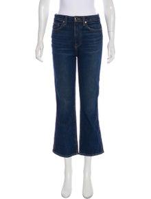 8360d57739f0ef Khaite. High-Rise Wide-Leg Jeans