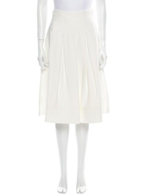 Khaite Pleated Accents Knee-Length Skirt