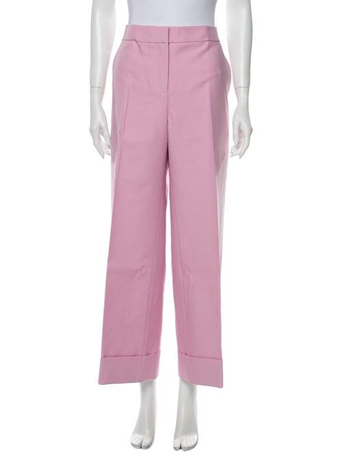 Khaite 2019 Wide Leg Pants w/ Tags Pink