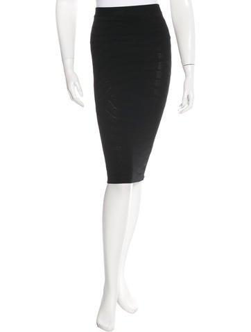 Kimberly Ovitz Jacquard Pencil Skirt w/ Tags None