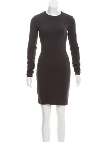Kimberly Ovitz Long Sleeve Mini Dress None