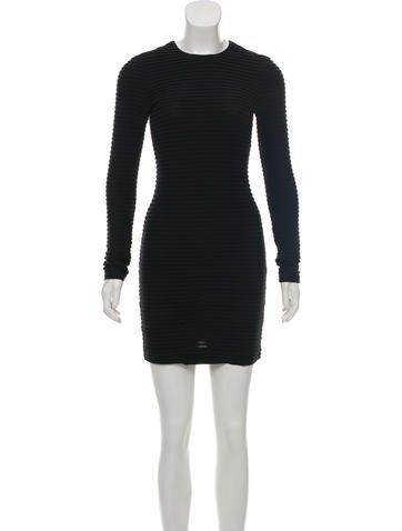 Kimberly Ovitz Long Sleeve Mini Dress