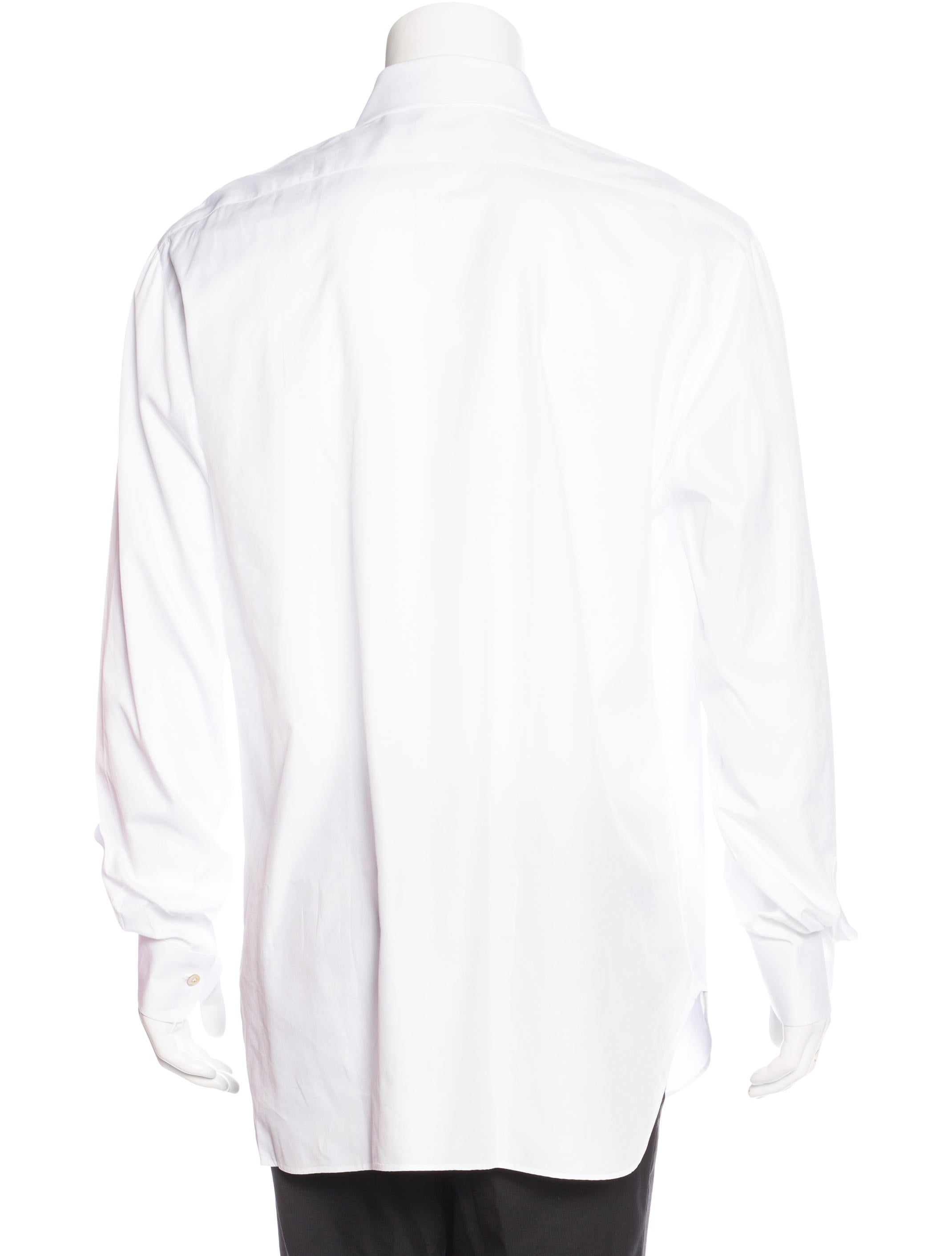 Kiton french cuff button up shirt clothing kit21390 for French cuff dress shirts for sale