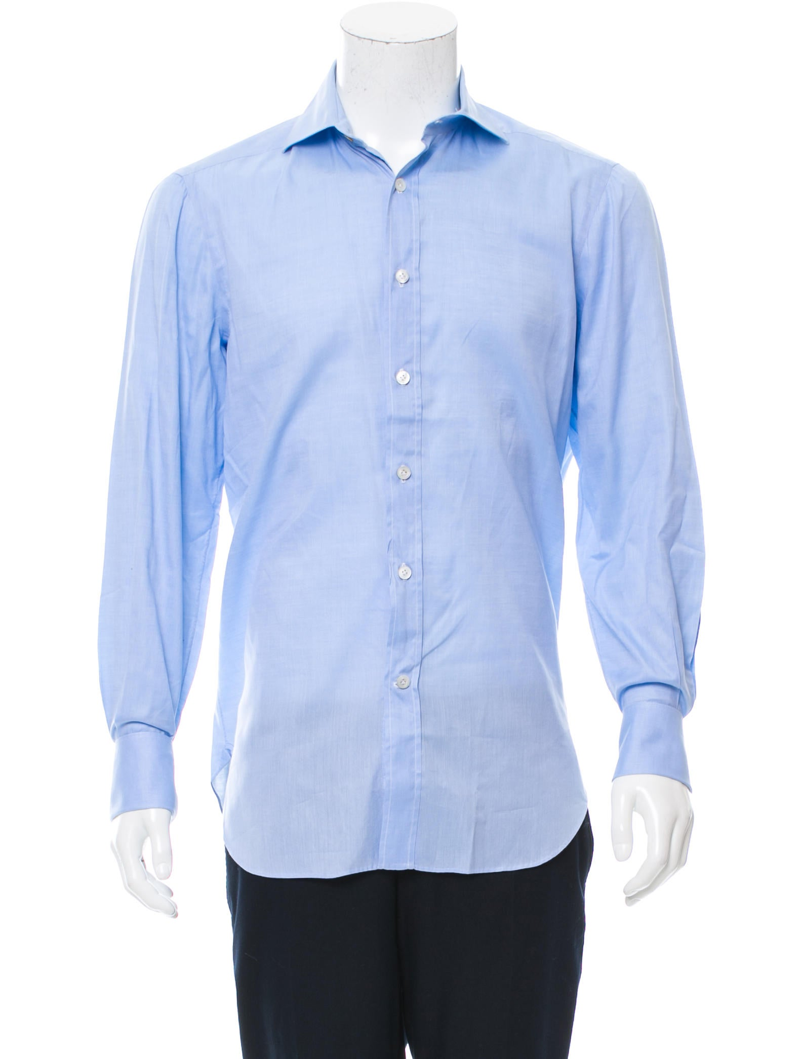 Kiton french cuff button up shirt clothing kit21548 for What is a french cuff shirt