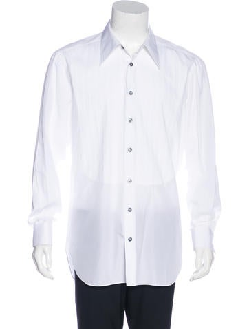 Kiton french cuff tuxedo shirt clothing kit21633 the for French cuff dress shirts for sale