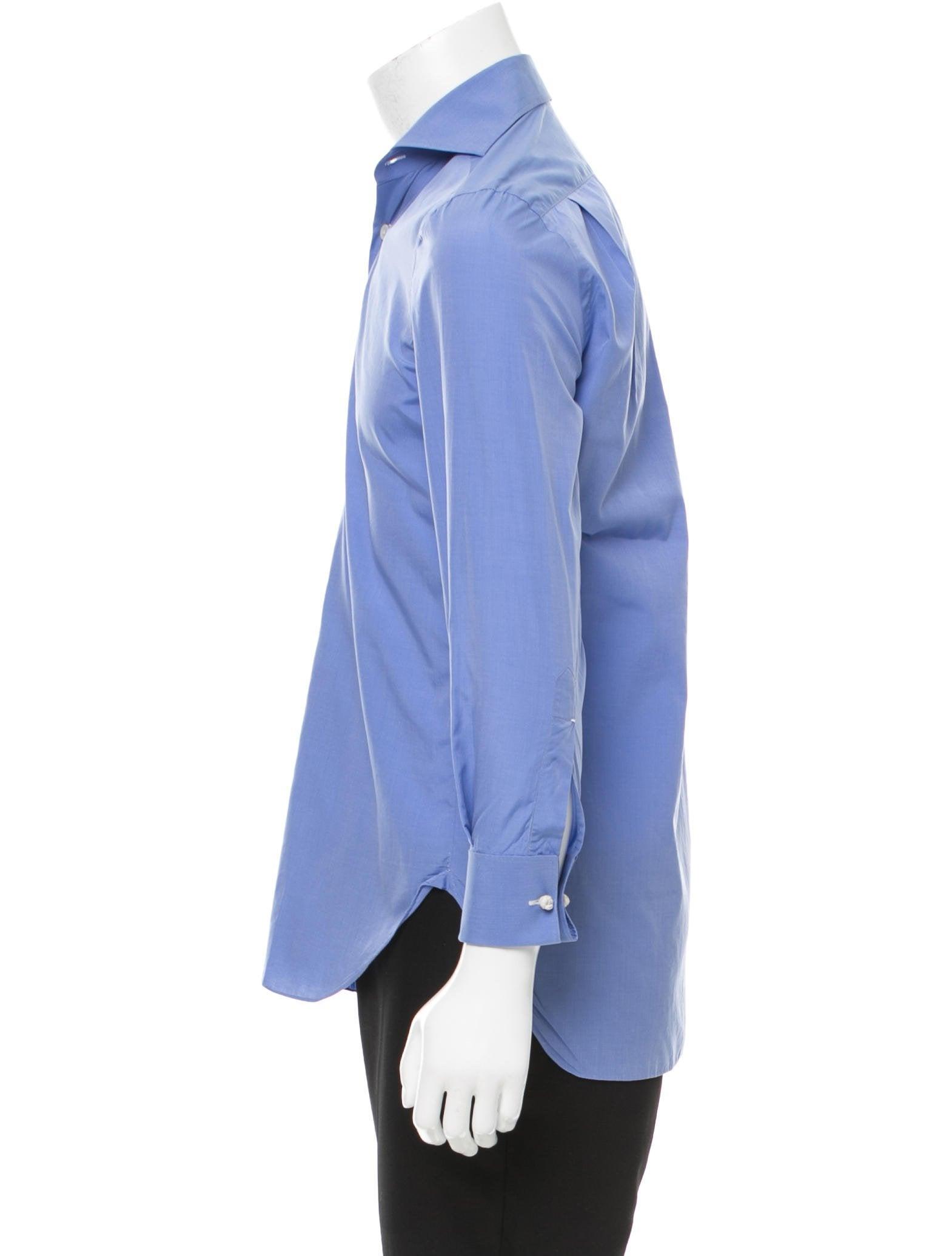 Kiton Long Sleeve Button Up Shirt Clothing Kit21837