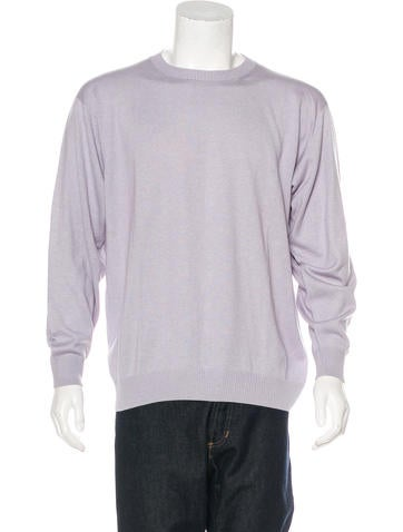 Kiton Cashmere and Silk-Blend Sweater None