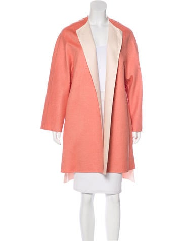 Kiton Cashmere Open-Front Coat w/ Tags None