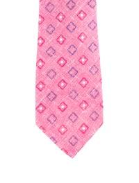 Printed Linen Tie image 1