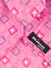 Printed Linen Tie image 2