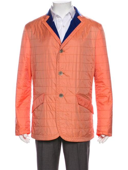 Kiton Jacket Orange