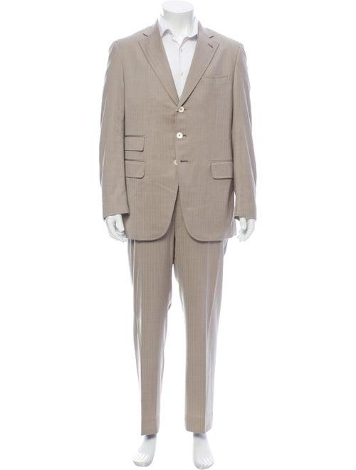 Kiton Wool Two-Piece Suit Wool