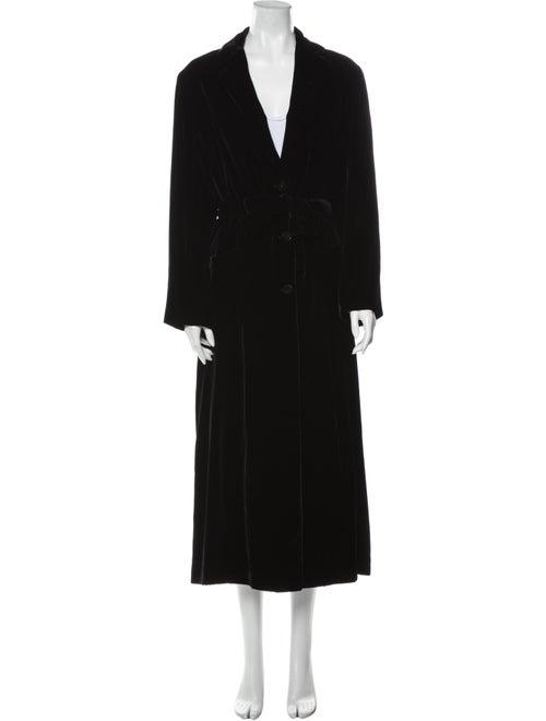 Kiton Coat Black