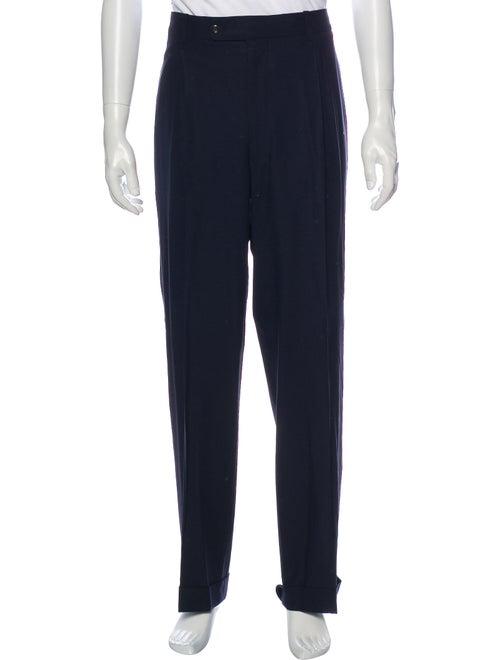 Kiton Dress Pants Blue