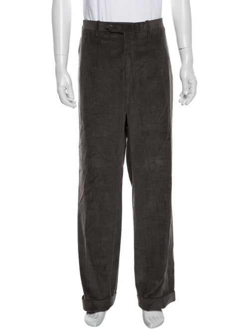 Kiton Corduroy Pants Grey