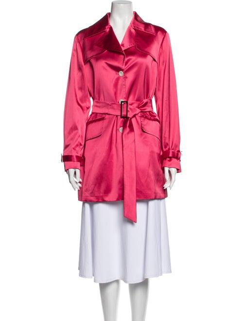 Kiton Trench Coat Pink