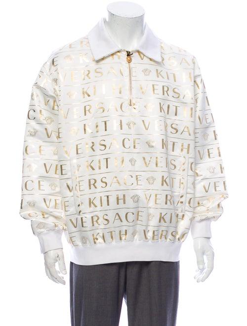 Kith x Versace Printed V-Neck Sweatshirt w/ Tags W