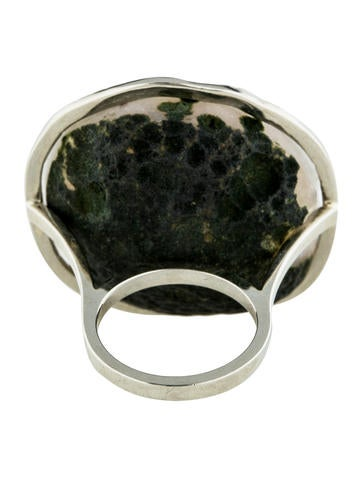Geode and Diamond Ring