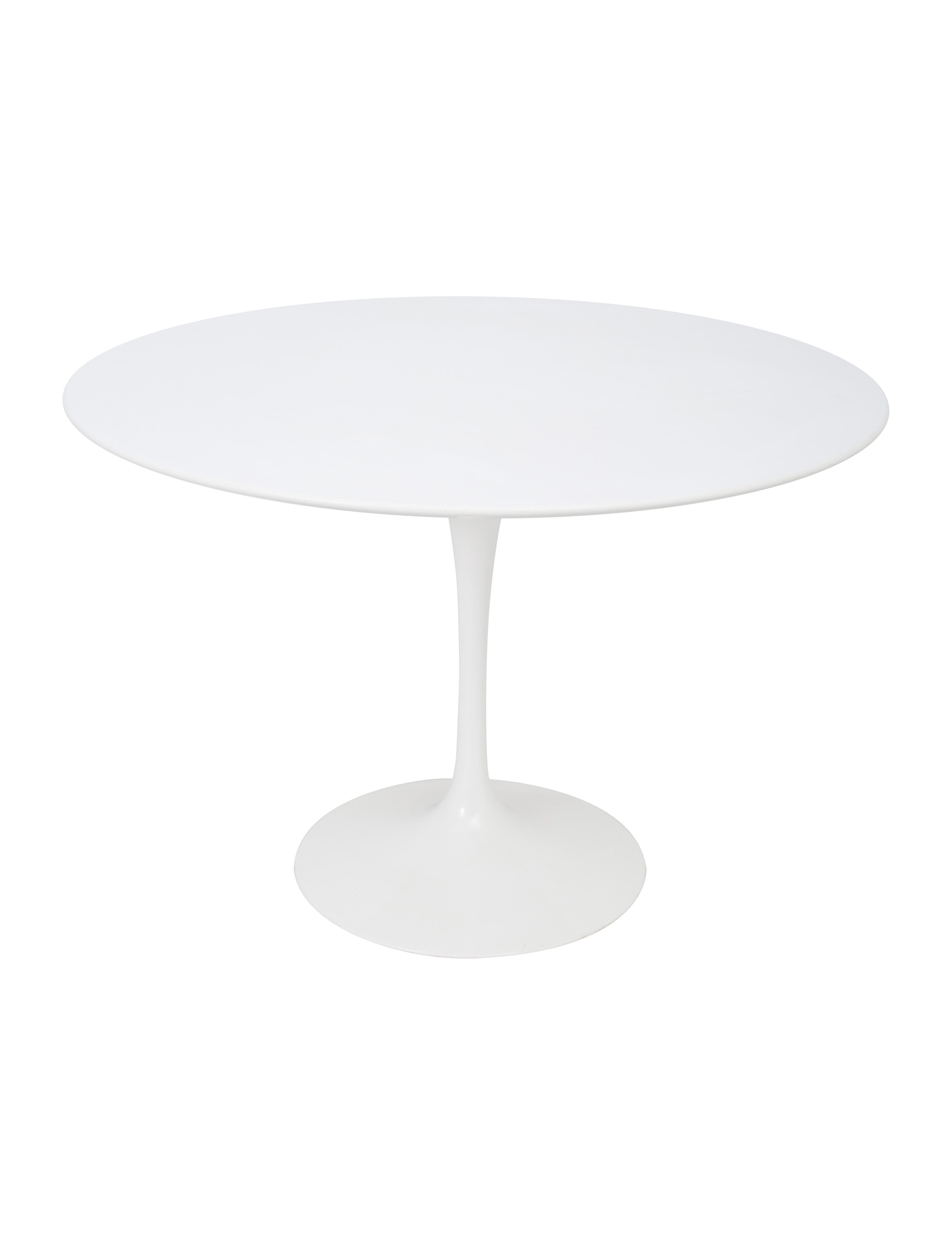knoll saarinen round dining table furniture knl20033 the realreal. Black Bedroom Furniture Sets. Home Design Ideas