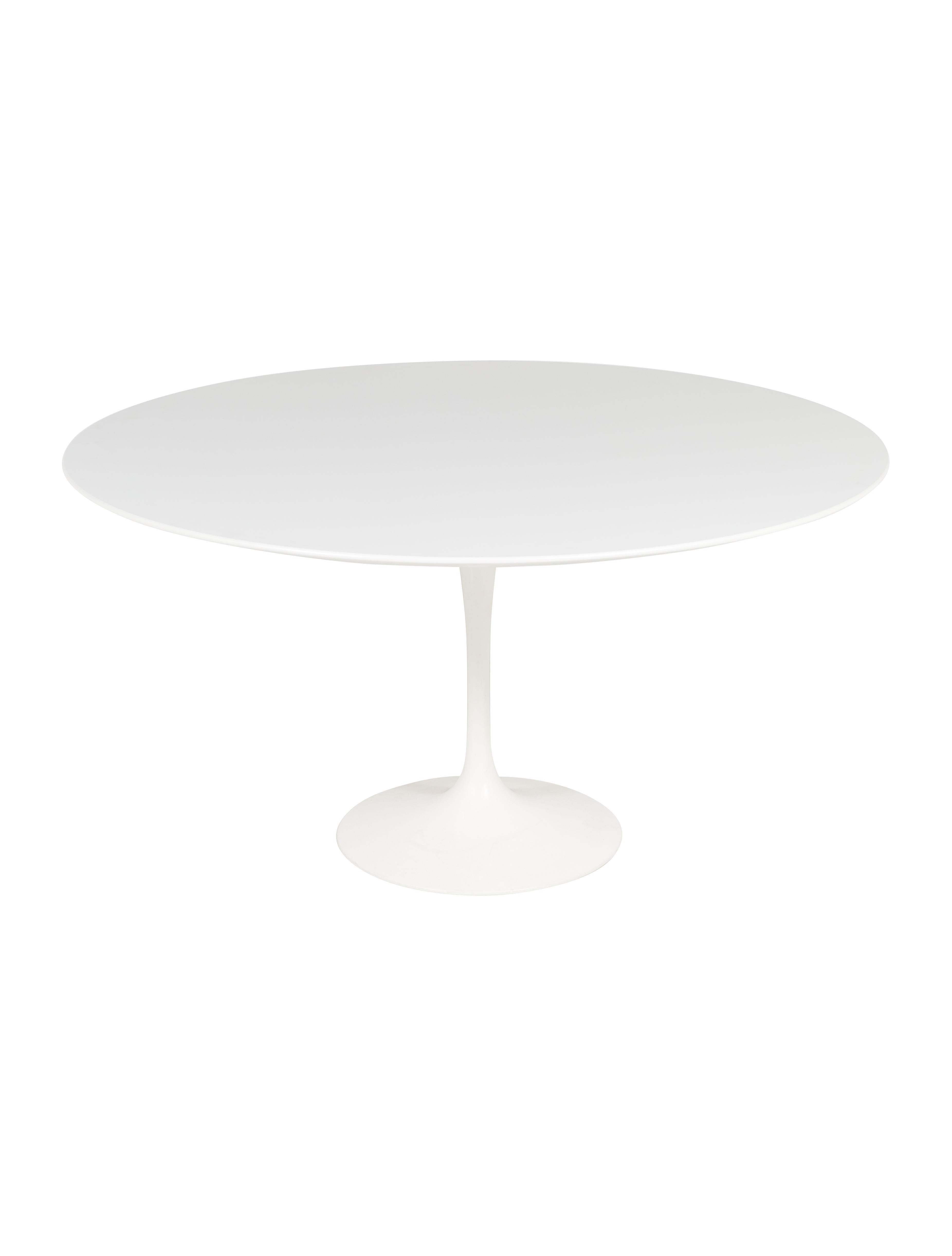 knoll saarinen round dining table furniture knl20111 the realreal. Black Bedroom Furniture Sets. Home Design Ideas