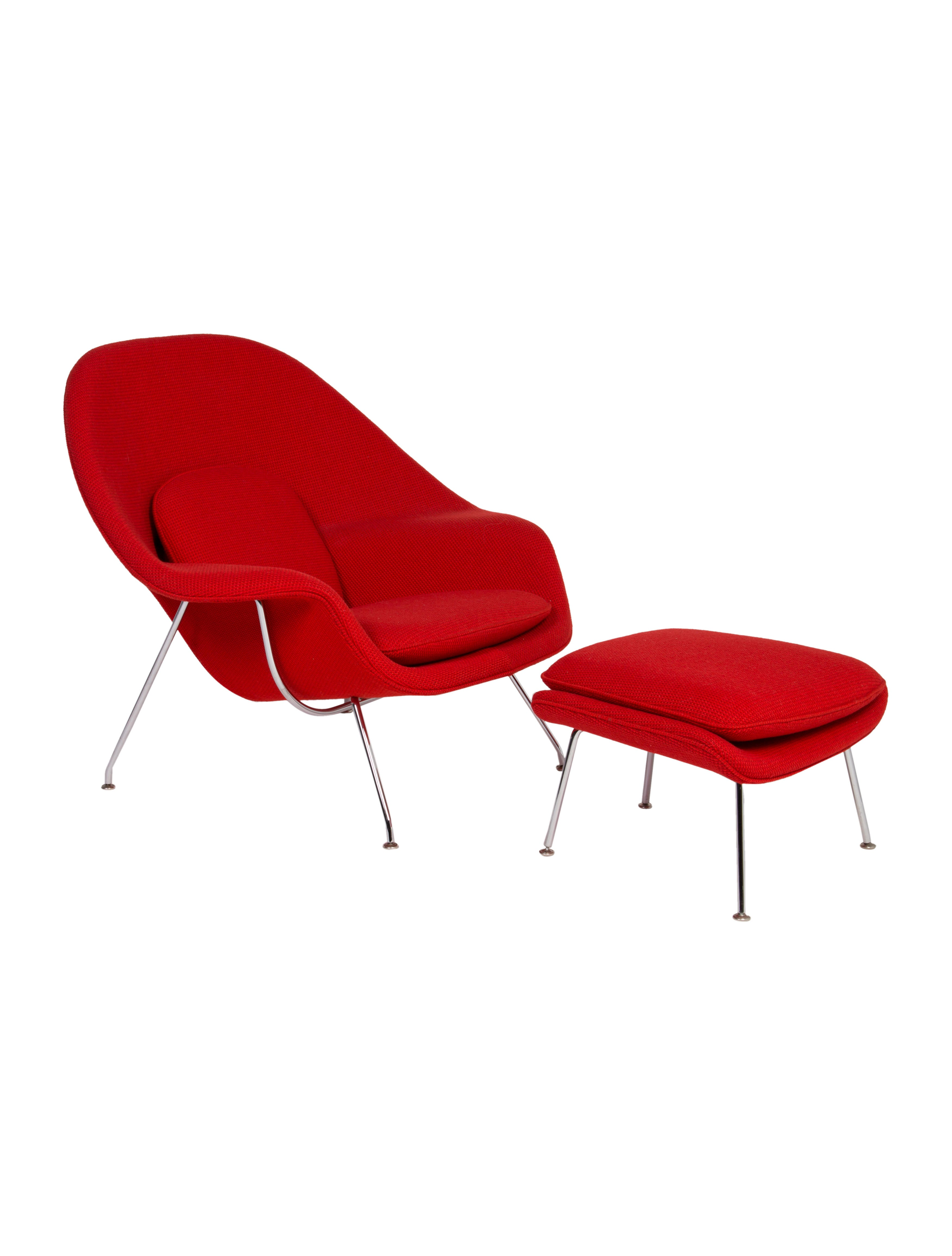 Knoll Womb Chair With Ottoman Furniture Knl20120 The