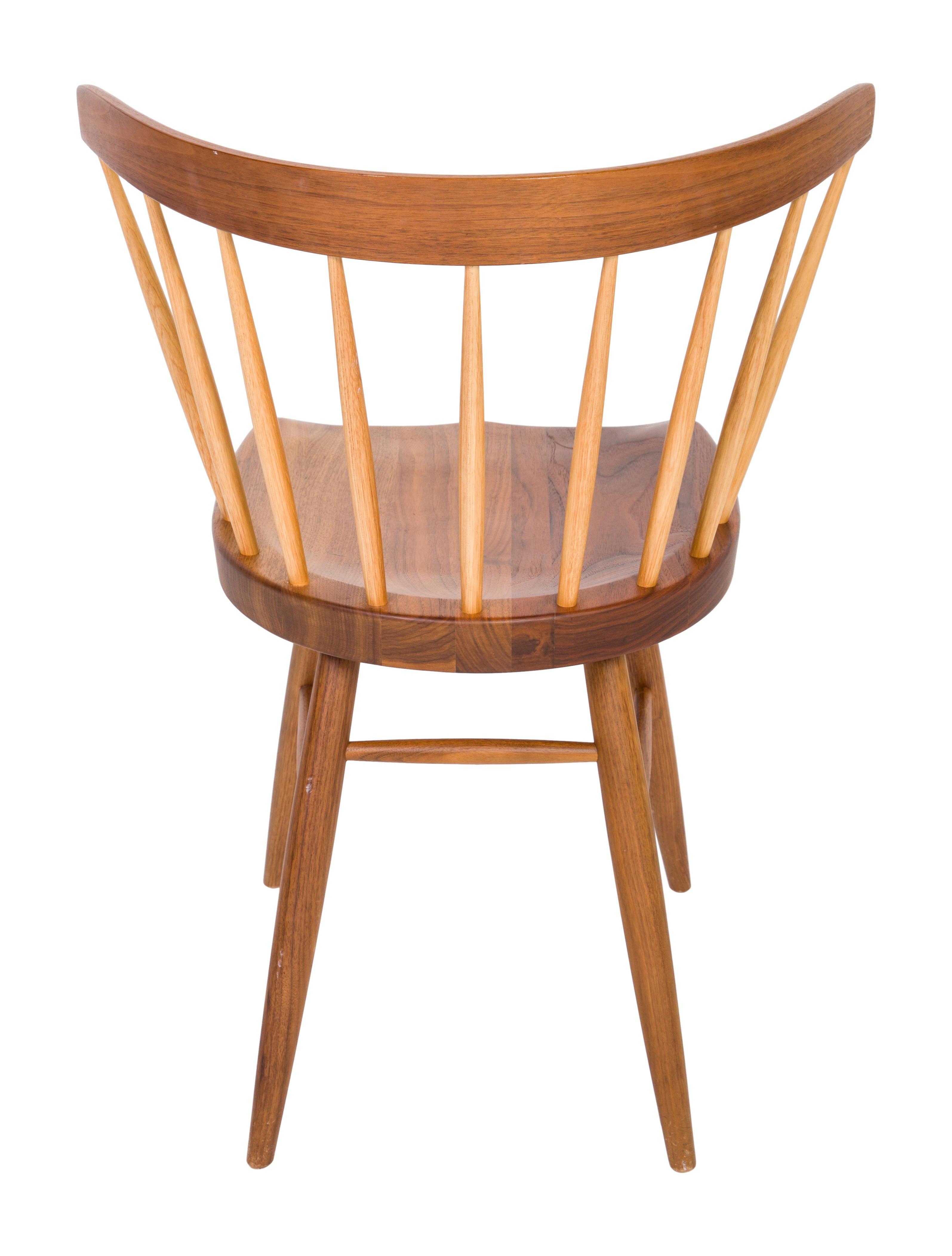 George Nakashima Straight Back Chair