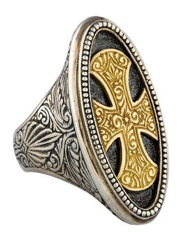 Byzantine Cross Ring