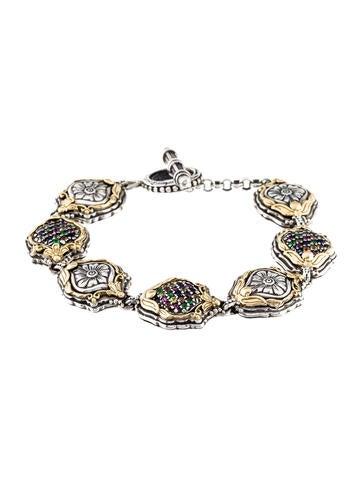 Konstantino Multistone Link Bracelet None