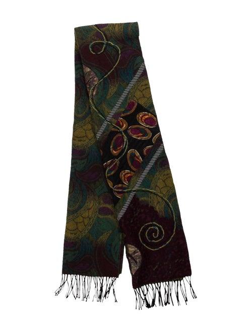 Koos Van Den Akker Wool Scarf Multicolor