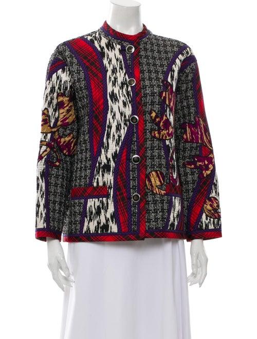 Koos Van Den Akker Printed Evening Jacket